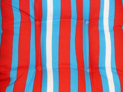 macro photo of a striped pillow
