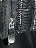 weathered Zipper head close up