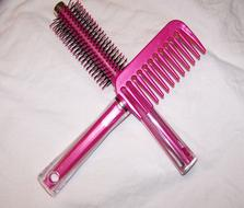 Hair Brush Pink