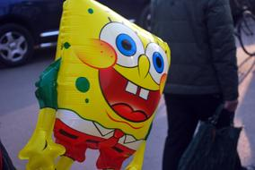yellow Balloon Sponge Bob