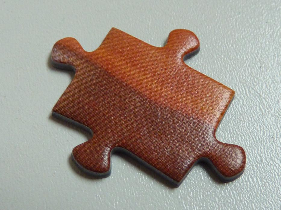 Puzzle Piece brown