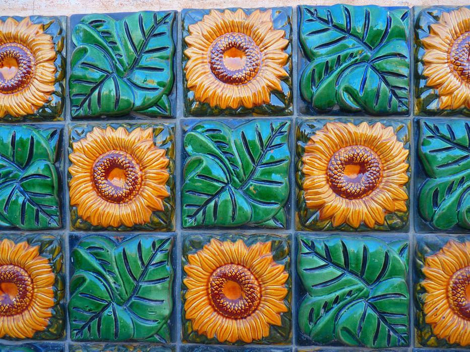 Sunflower Tiles