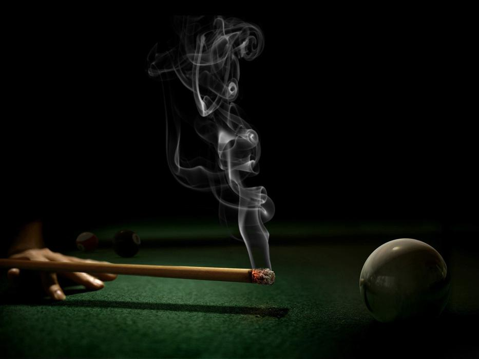 At Billiards With smog