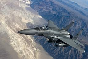 Fighter Jet F 15 Strike