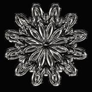 snowflake ice crystal ice form