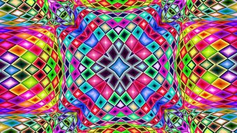 kaleidoscope pattern sacred drawing