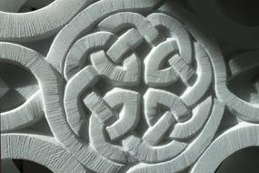 Pattern Celtic Marble drawing