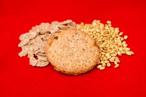 oats, grains and biscuits