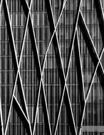 Abstract Architecture in geometric style