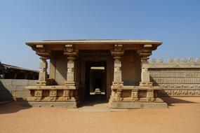gateway of Hazara Rama Temple, india, Hampi