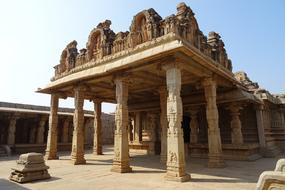 Hazara Rama Temple in Hampi, India