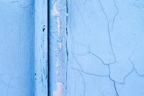 Old Wall Concrete blue