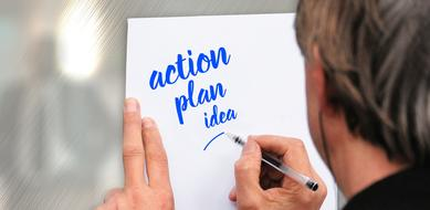 idea plan action drawing