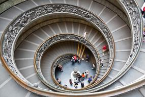 spiral staircase,stairs,architecture,staircase,vatican,snail