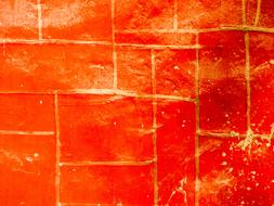 Background Wall Building red gold