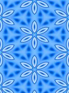 pattern abstract wallpaper design blue flower drawing