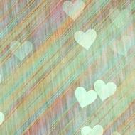 background scrapbooking paper hearts green drawing