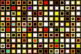 squares colorful texture modern art drawing