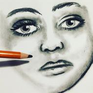 sketch drawing face