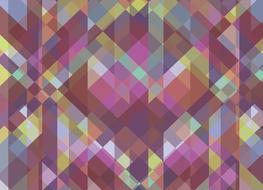 colorful abstract geometric pattern, backdrop