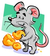 mouse cheese drawing