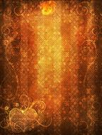 background scrapbooking texture fire drawing