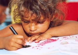 Poor Child drawing