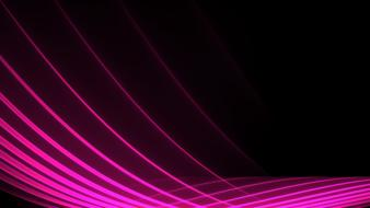 Beautiful black background with pink lines