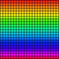 weave texture rainbow material drawing
