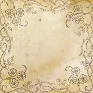 background scrapbooking paper old gold drawing
