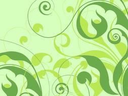 decoration flowers design green