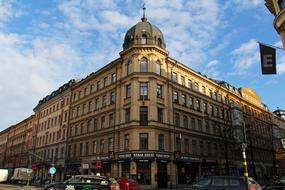 photo of a shopping center building in Stockholm