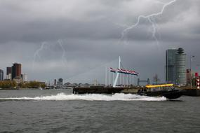 Rotterdam Water and storm