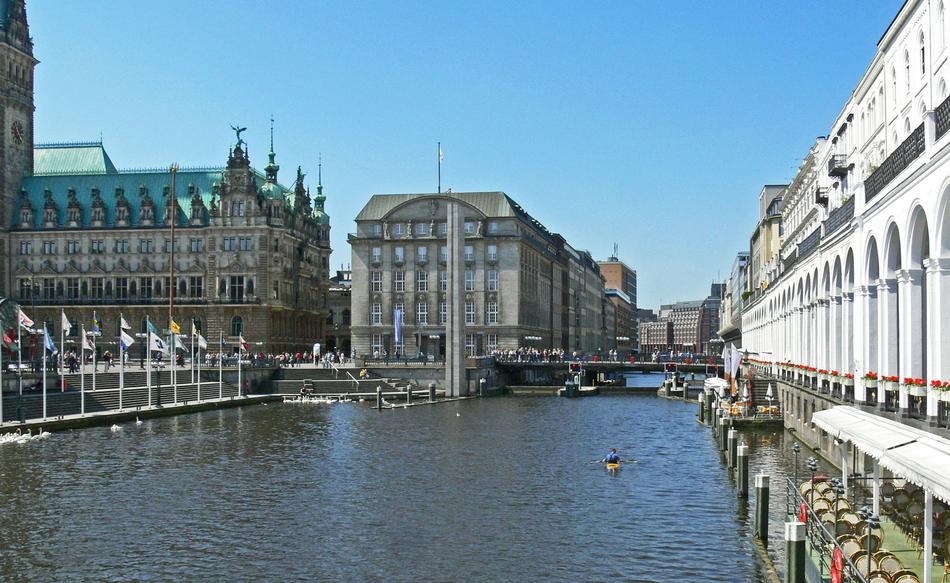 absolutely beautiful Hamburg Canal Alster
