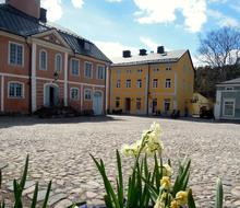 unusually beautiful Porvoo City Market