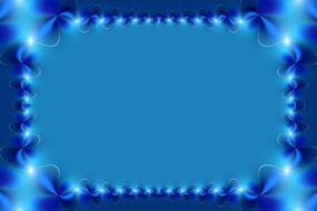 frame background course gradient blue