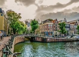 impressively beautiful Amsterdam Canal