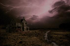thunderstorm house