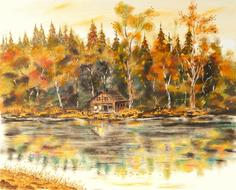 House Lake Landscape