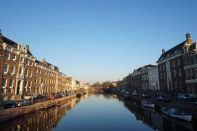 very beautiful Amsterdam canal