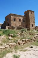 Montearagon Castle was a monastery fortress in Quichen, near Huesca, Aragon, Spain