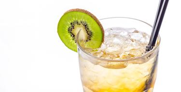 cold Drink with kiwi, Cocktail