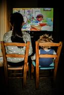 Watching Tv Television kids
