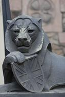 Lion Stone Sculpture
