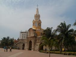 Cartagena city fortress in Colombia