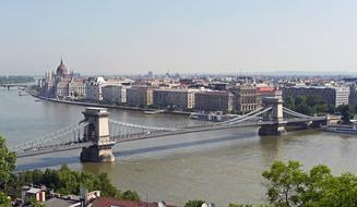 Budapest Chain Bridge and Parliament
