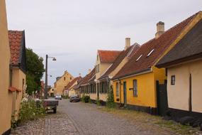 photo of houses in a village in Denmark