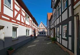 Seligenstadt city Germany