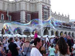 Fun Soap Bubbles people