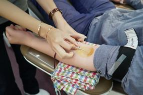 Blood Donation person